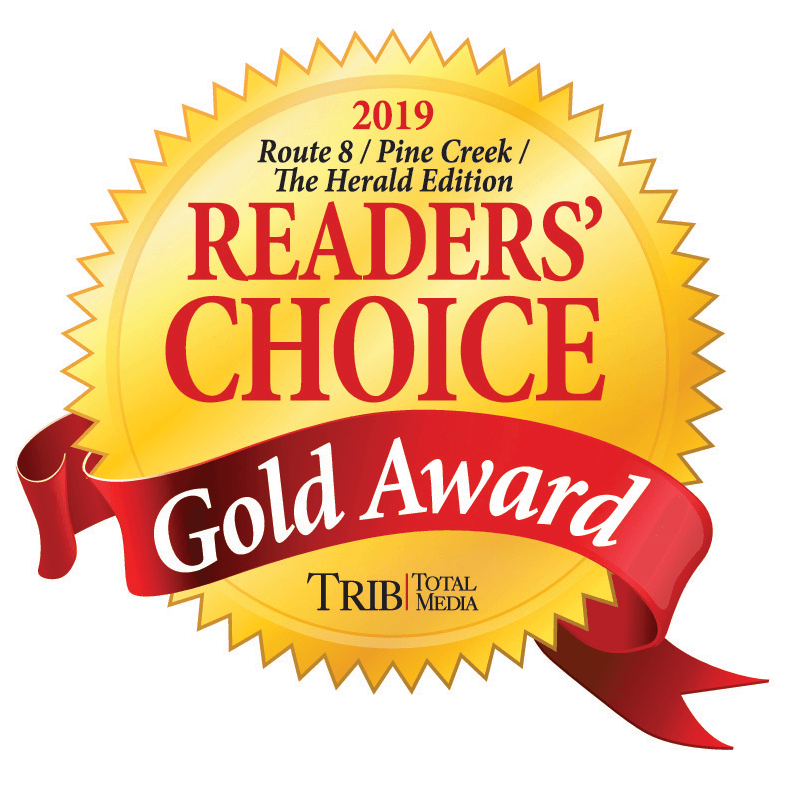 2019 Trib Total Media Readers' Choice Awards - Gold Winner